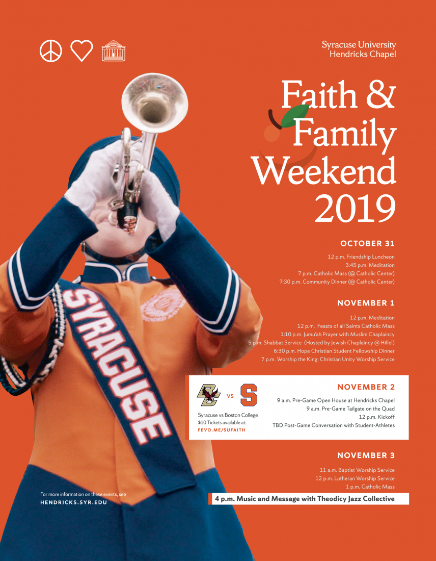 Faith and Family Day poster
