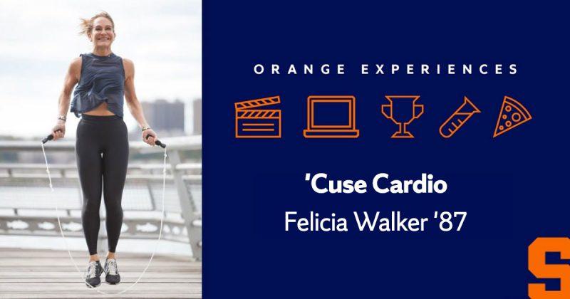 felicia walker working out in a riverside park