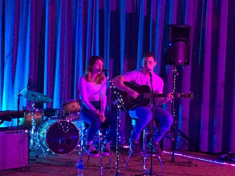 Grace Krichbaum performs