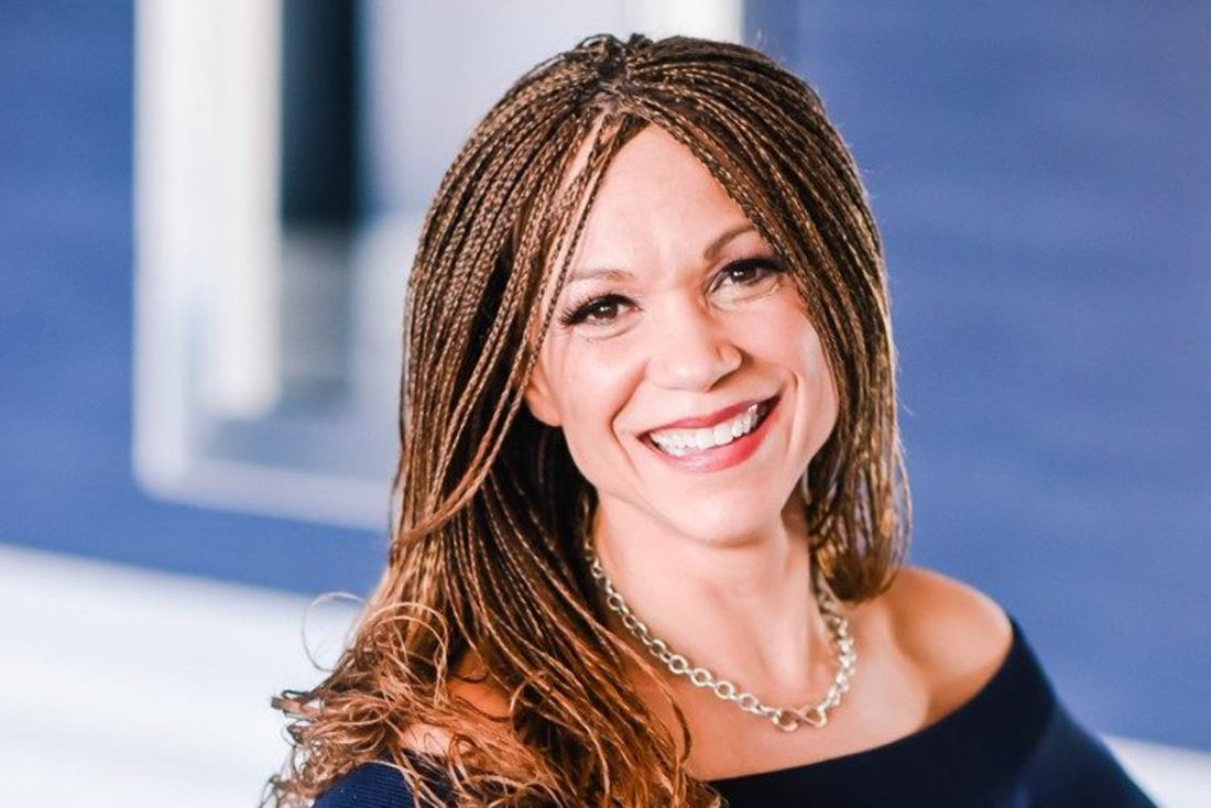 American writer, professor and television host Melissa Harris Perry