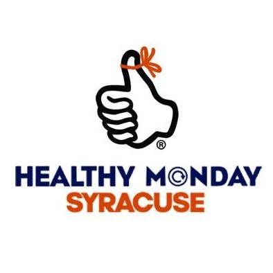 Healthy Monday Syracuse logo with Thumb