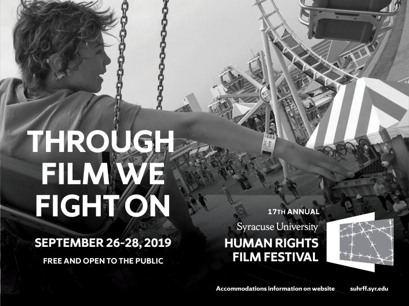 Poster image for the 2019 Human Rights Film Festival