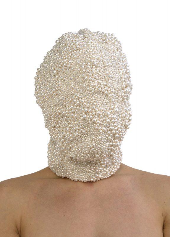 Kalman's art piece 'Crime Hood'