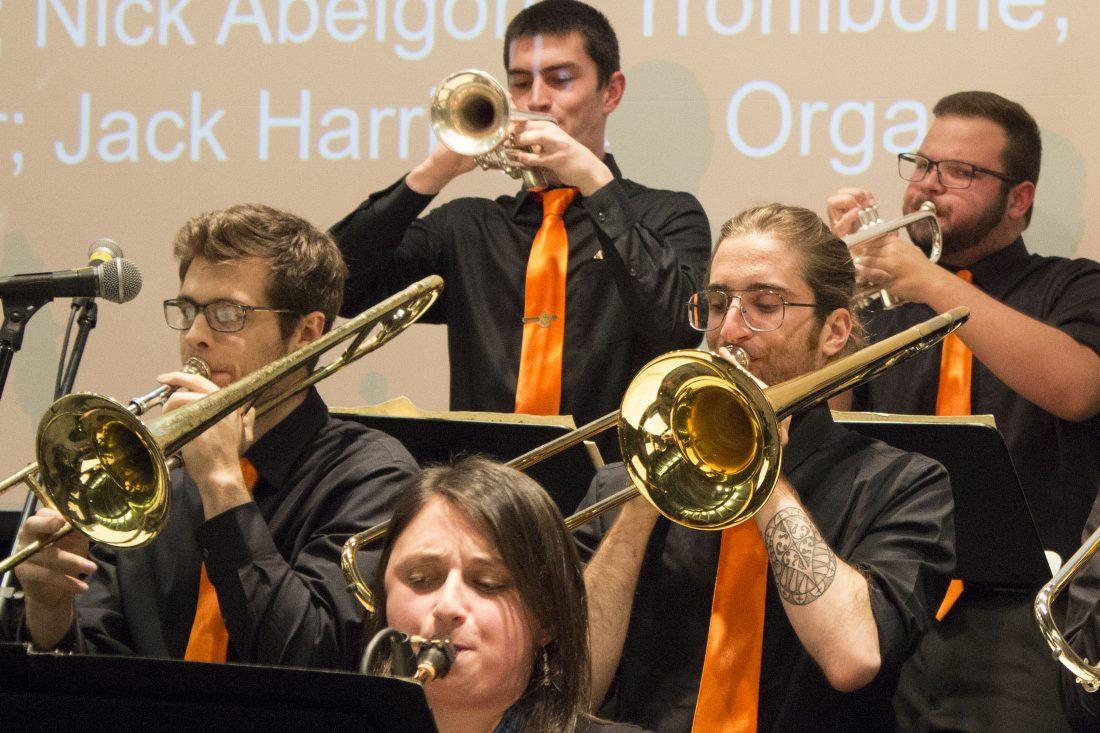 The Morton Schiff jazz ensemble.