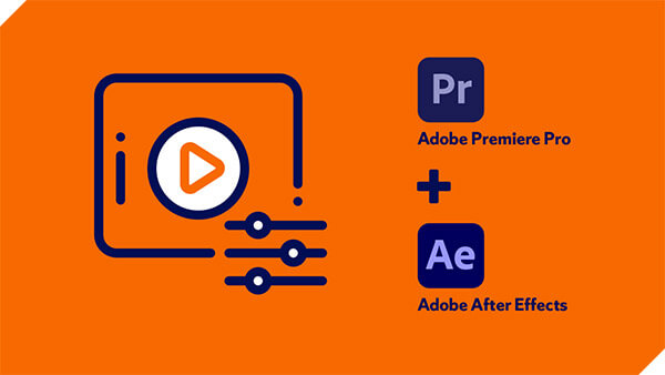 Adobe Premiere Pro + Adobe After Effects Icons