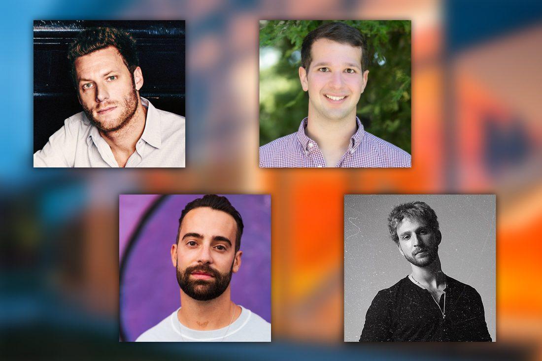 Adam Alpert, Joey Papoutsis, Roneil Rumburg and Two Feet