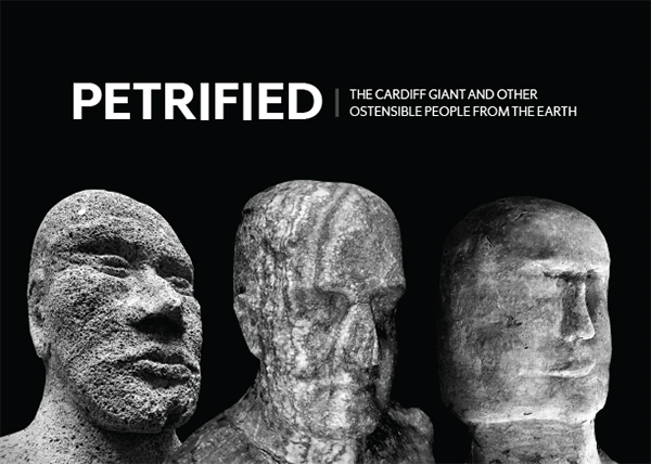 Petrified exhibition poster