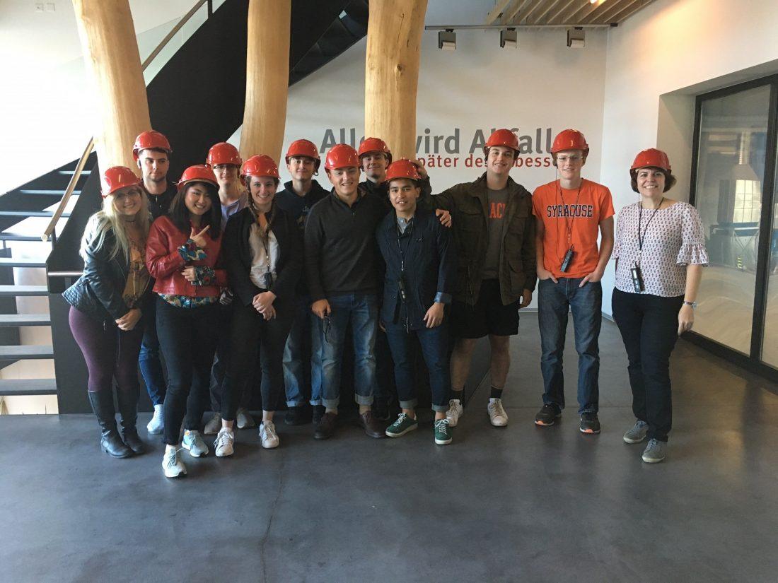 ECS students in Strasbourg