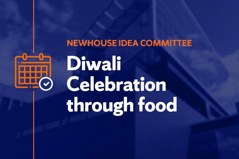 Diwali celebration through food