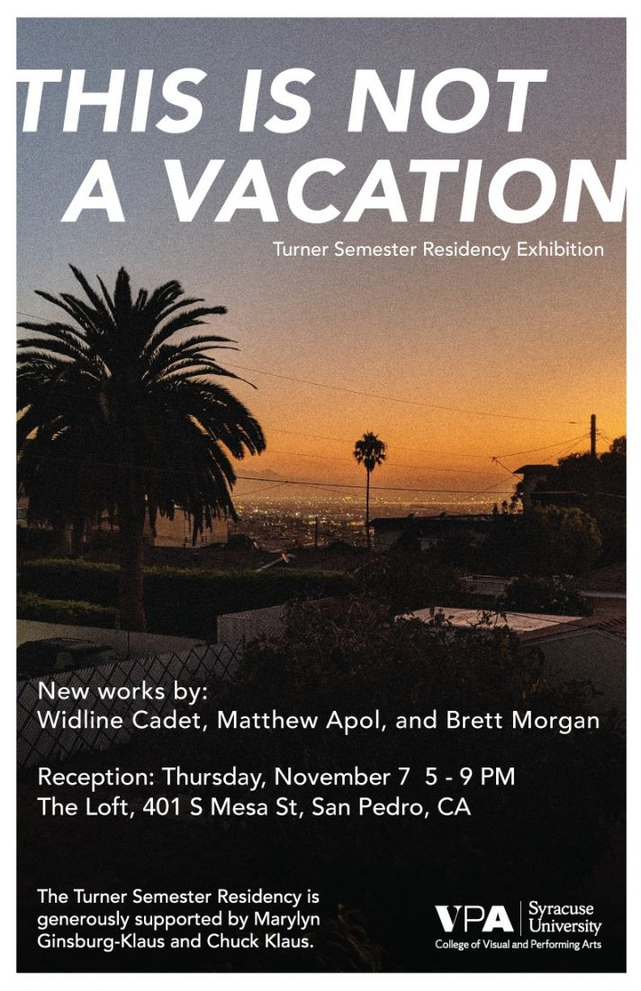 This is not a vacation poster.