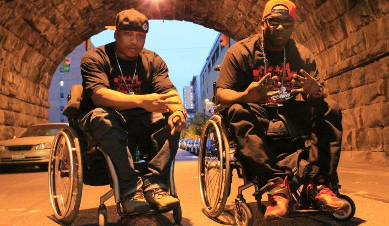 Ricardo Velasquez and Namel Norris of 4 Wheel City