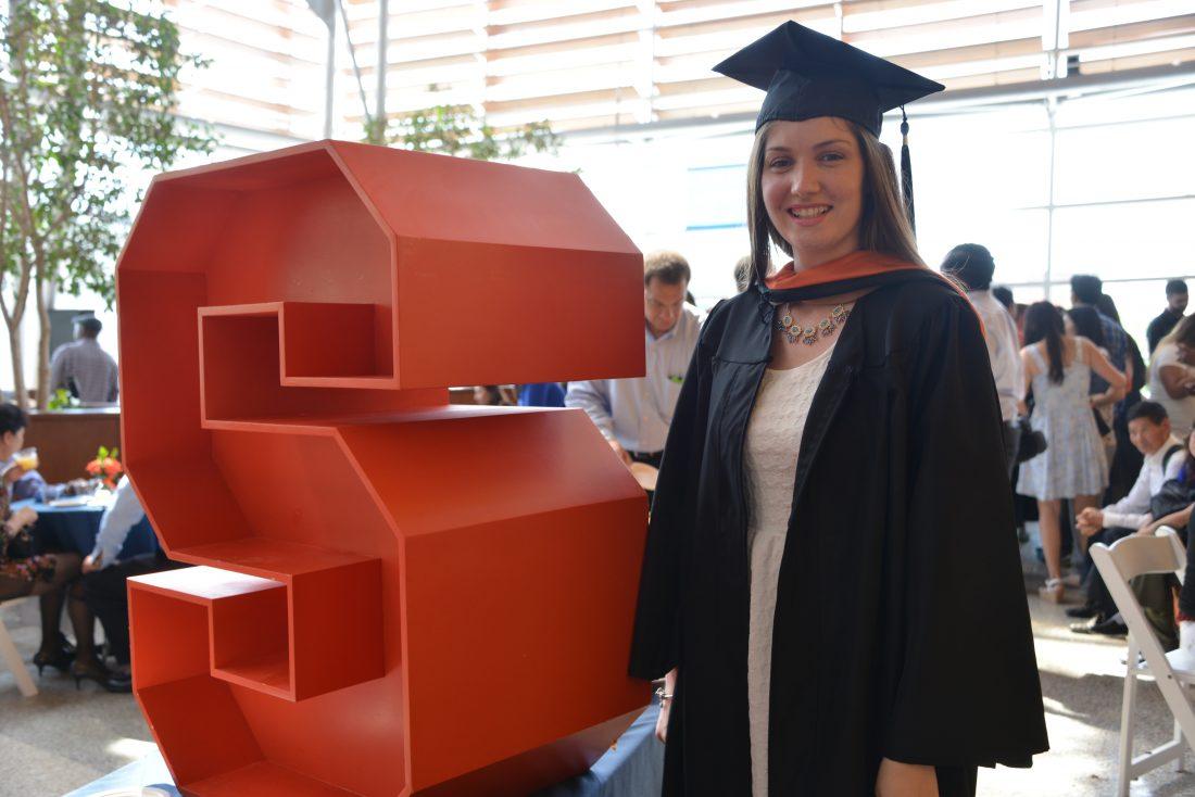 Portrait of a graduate.