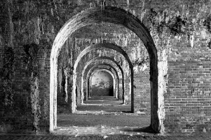 Interior, Fort Morgan, Battle Site, Mobile Bay, Alabama, 2003